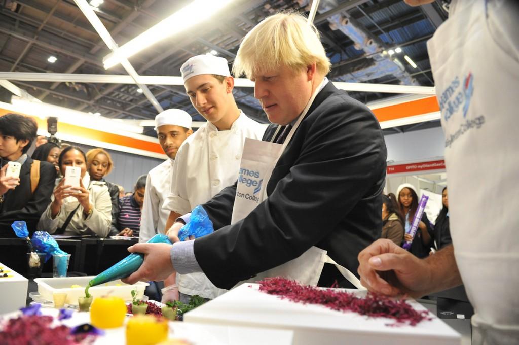Boris Cake Decorator, social status anomalies