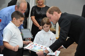 Prince Willaim at Imperial War Museum for SkillForce charity