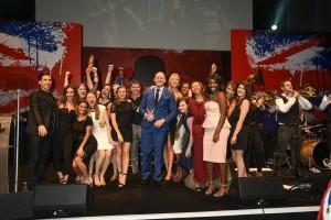 awards stage invasion